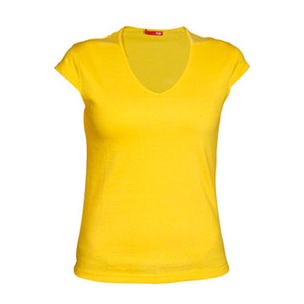 CAMISETA MARTINICA AMARILLO GOLDEN T-L