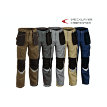 PANTALON BRICKLAYER GRIS T-40
