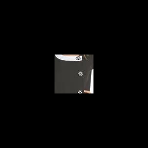 CHAQUETILLA M/C CONTRASTES MD.  8238 NEGRO T-G