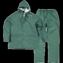 CONJUNTO IMPERMEABLE VERDE MD. 304 T-L -