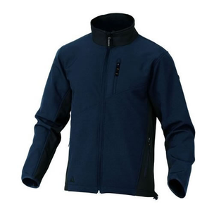 CHAQUETA SOFTSHELL M2 CORPORATE LULEA AZUL T-M - DESCATALOGADO