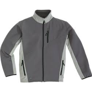 CHAQUETA SOFTSHELL M2 CORPORATE LULEA GRIS T-S - DESCATALOGADO