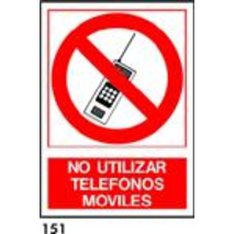 SEÑAL AL. NORM. A3 CAT. R-151 - NO MOVILS