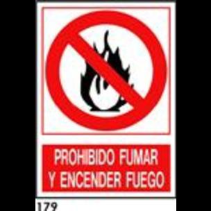 SEÑAL AL. NORM A4 CAT R-179 - PROH. FUMAR I...