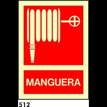 SEÑAL AL. FOTO A3 CAT R-512 - MANEGA