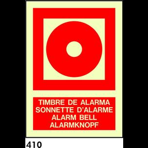 SEÑAL AL. FOTO A3 R-410/C533 .TIMBRE ALARMA.