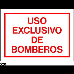PEGATINA NORM. 21x15 CAT R-520 .US EXCLUSIU BOM...