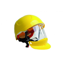 CASCO ELECTRICO AISLANTE C/VISOR RETRACTIL BLANCO
