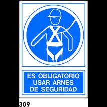 SEÑAL AL.  NORM. A3 R-309 - USAR ARNES