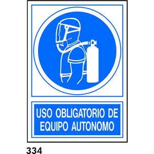 SEÑAL AL.  NORM. A4 CAST. R-334 - EQUIPO AUTONOMO
