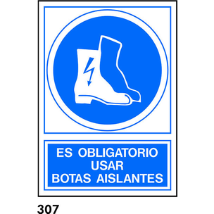 SEÑAL PVC NORM. A3 CAT. R-307 - BOTES AILLANTS