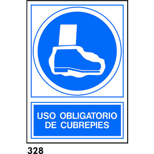 SEÑAL PVC NORM. A3 CAT. R-328 - USAR CUBREPEUS
