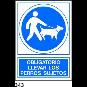 SEÑAL PVC NORM. A3 CAT. R-343 - GOSSOS LLIGATS