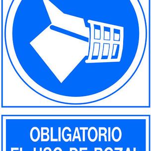SEÑAL PVC NORM. A3 CAT. R-344 - UTILITZAR MORRIO