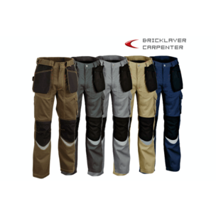 PANTALON BRICKLAYER GRIS T-38 V015-0-01