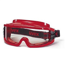 GAFAS UVEX ULTRA-VISION ESTANCA ROJA PC - 9301
