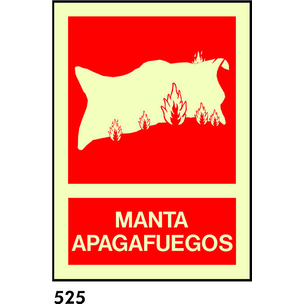 SEÑAL AL. FOTO A4 CAST R-525/C522 .MANTA APAGA....