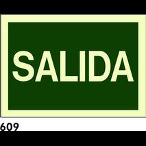 SEÑAL AL. FOTO CAST A4 R-609 - SALIDA