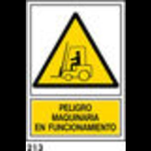 SEÑAL AL. NORM. A3 CAST. R-213 - MAQUINARI FUNCION