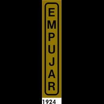 SEÑAL AL. PLATEADO 20X4 CAT R-1924 - EMPENYEU
