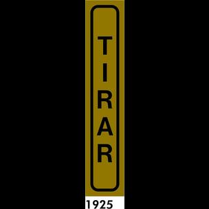 SEÑAL AL. DORADO 20X4 CAT R-1925 - ESTIREU