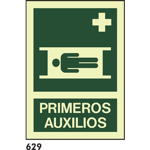 SEÑAL PVC FOTO A4 CAT R-629 - PRIMERS AUXILIS