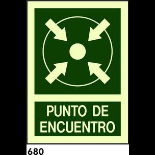 SEÑAL AL. FOTO. A3 CAT R-680 - PUNT DE TROBADA