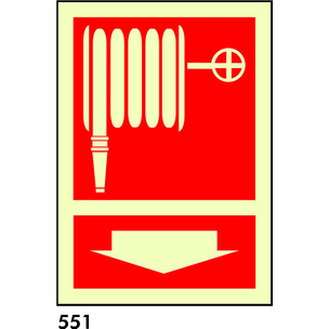 SEÑAL PVC FOTO A3 CAST. R-551/C509 - MANGUERA
