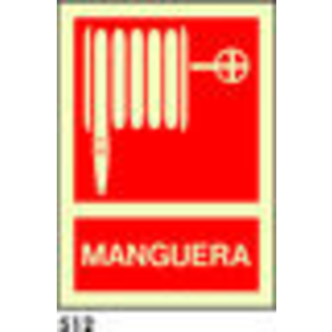 SEÑAL PVC FOTO A4 CAST R-512 - MANGUERA