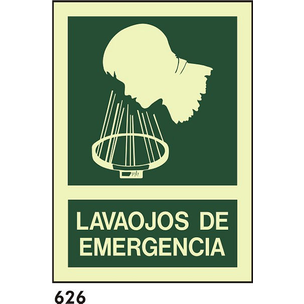 SEÑAL PVC FOTO A4 CAST R-626 - LAVAOJOS