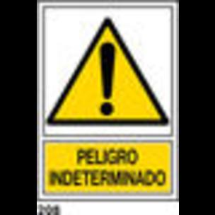 SEÑAL PVC NORM. A3 CAT. R-208 - INDETERMINAT