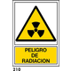 SEÑAL PVC NORM. A3 CAT. R-210 - RADIACIO