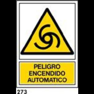 SEÑAL PVC NORM A3 CAT R-273 .ENCESA AUTOM....