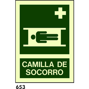 SEÑAL PVC FOTO A4 CAST R-653 - CAMILLA SOCORRO