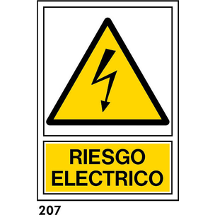 SEÑAL PVC NORM A4 CAT R-207 - RISC ELECTRIC