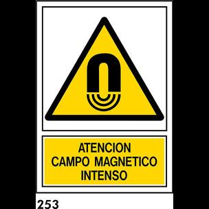 SEÑAL PVC NORM A4 CAT R-253 .CAMP MAGNETIC.