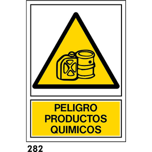 SEÑAL AL. NORM A3 CAT R-282 .PRODUCTES QUIMICS.