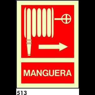 SEÑAL AL. FOTO A3 R-513/C524 .MANGUERA.
