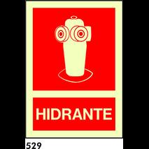 SEÑAL AL. FOTO A3 R-529/C536 .HIDRANTE.