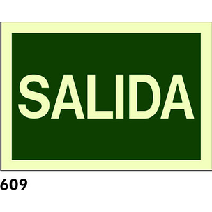 SEÑAL AL. FOTO. A3 CAST R-609 - SALIDA