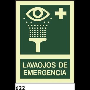 SEÑAL PVC FOTO A4 CAST R-622 - LAVAOJOS