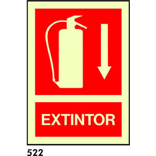 SEÑAL AL. FOTO A1 R-522 - EXTINTOR