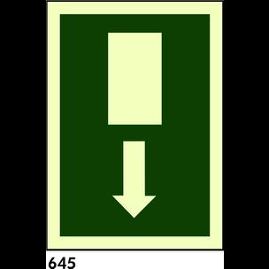 SEÑAL PVC FOTO A4 R-645 - ULTIMAS UNIDADES