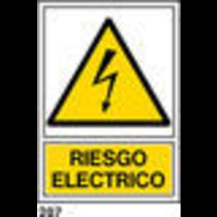 SEÑAL AL. NORM. A3 CAST. R-207 - RIESGO ELECTRICO