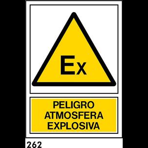 SEÑAL AL NORM A3 CAT R-262 - ATMOSFERA EXPLOSIVA