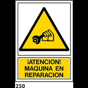 SEÑAL AL. NORM. A3 CAST R-250/J955 ....REPARACION.