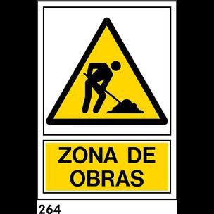SEÑAL AL. NORM A4 CAST R-264/J957 .OBRAS.