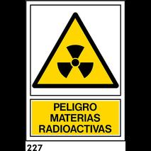 SEÑAL AL. NORM. A4 CAT. R-227 - MATERIES RADIOACTI