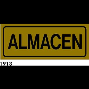SEÑAL AL. PLATEADO 21X8.5 CAST R-1913 - ALMACEN