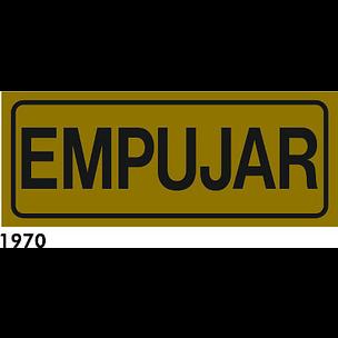 SEÑAL AL. DORADO 21X6,5 CAT R-1970 - EMPENYEU